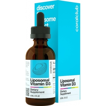 Liposomal Vitamin D3 (60 ml)