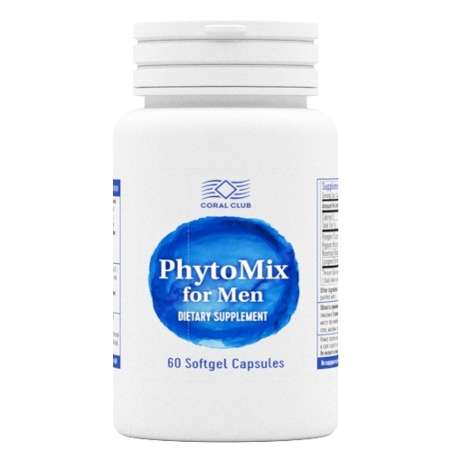 PhytoMix for Men, Phyto Mix, Phyto-Mix, Men's health, for men, phytonutrients, for the prostate gland, against aging, for hai